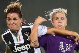 Decide Ilaria Mauro: la Fiorentina batte la Juve e conquista la Supercoppa femminile