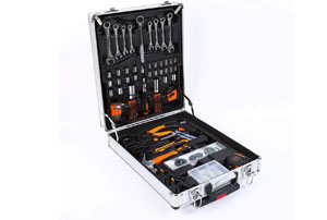 Set valigetta trolley attrezzi e utensili da lavoro 1019 pezzi