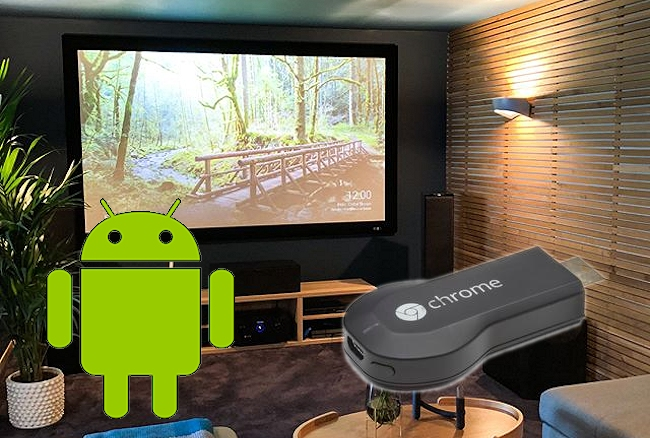 collegare android tv