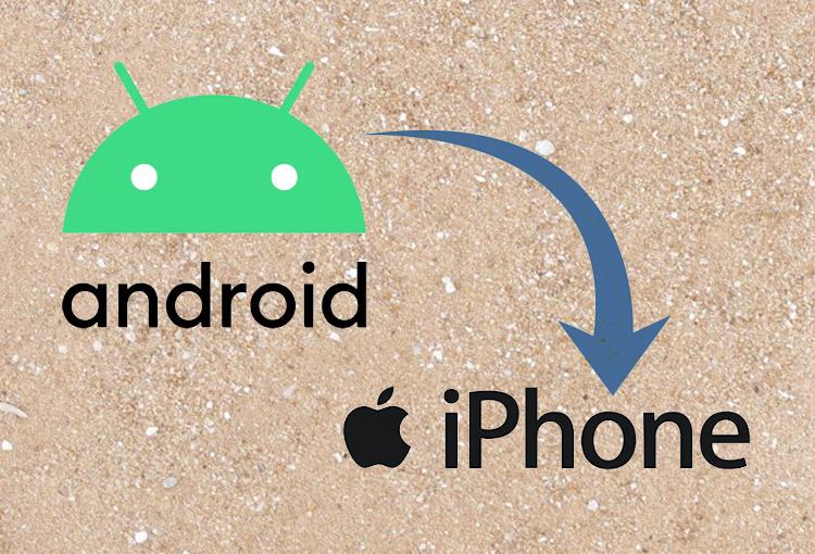 come trasferire i contatti da android a iphone