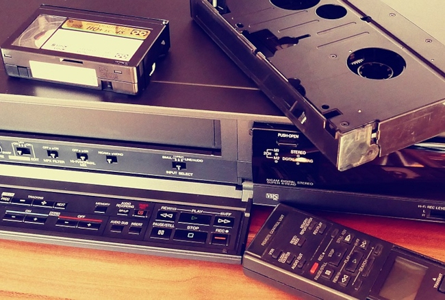 convertire videocassette vhs in file digitali