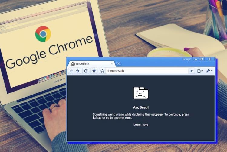 google chrome non risponde o va in crash