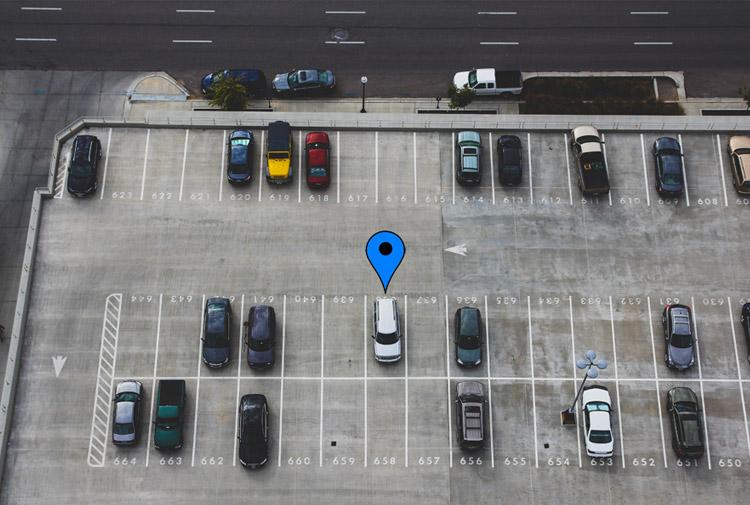 memorizzare parcheggio maps