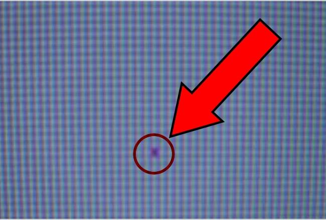 riparare pixel bloccato